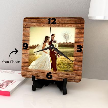 Magic Of Love Personalized Wooden Clock