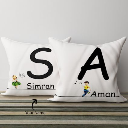Together We: Couple Pillows