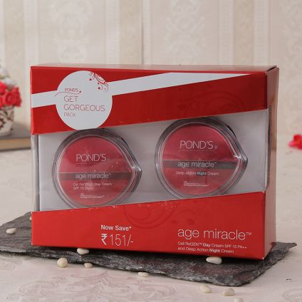 Ponds Age Miracle Day Cream And Night Cream