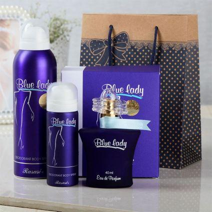 Rasasi Blue Lady Gift Set