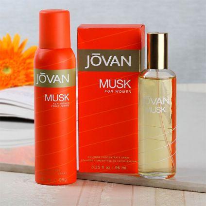 Jovan Musk Gift Set For Women