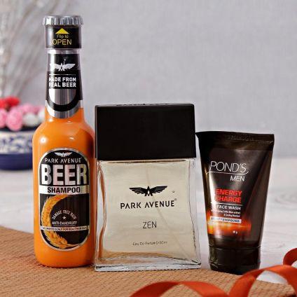 Park Avenue Shampoo And Perfume With Mens Facewash