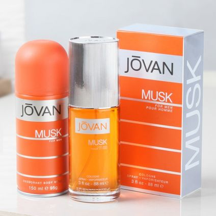 Jovan Musk Cologne Spray With Deodorant