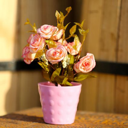 Artificial Rose Plant