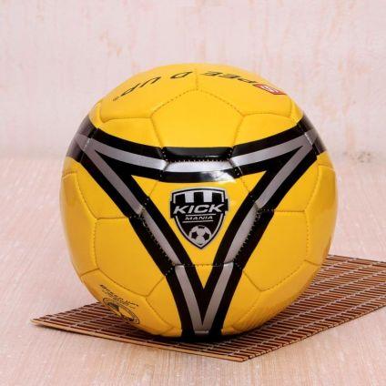 Kick Mania Yellow Football