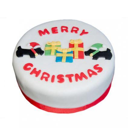 Christmas Celebrations Cake