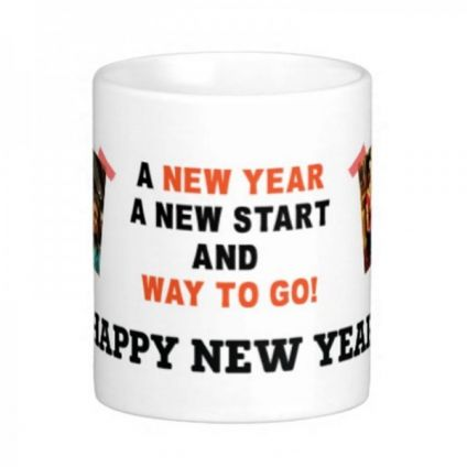 Personalized New Year Quote Mug