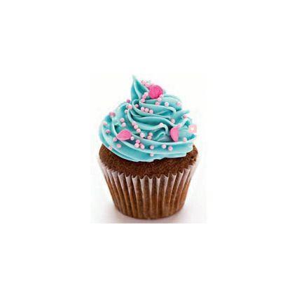 Blue Pink Fantasy Cupcake