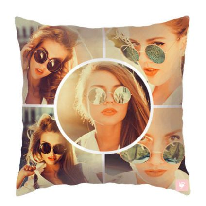 Personalized gift Pillow Photo collage Print on pillow Birthday gift Valentine's Day Gift for her Gi