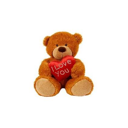 Cute Teddy bear little heart