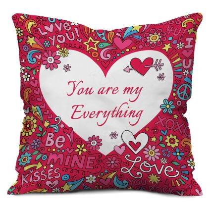 Valentine Gifts for Cushion Pillow Pink