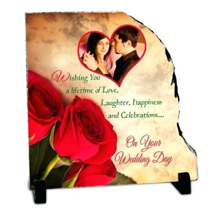 WEDDING DAY PERSONALISED STONE QUOTATION
