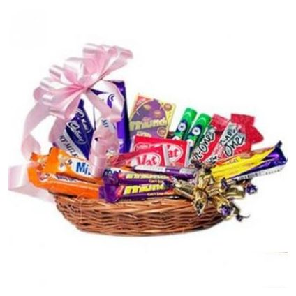 A Basket of 20 Mixed chocolates