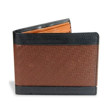 BROWN & BLACK MENS WALLET