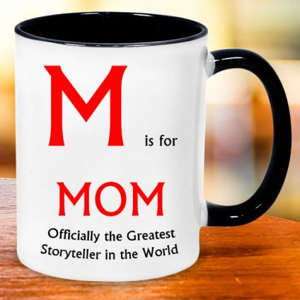 TRENDY WHITE MUG FOR MOM