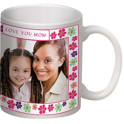 Personalized Picture and Message on Mug