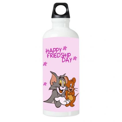 Happy Friendship Day Tom And Jerry Sipper bottle