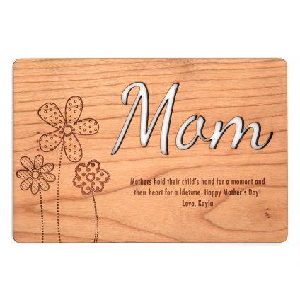 Mom In Million Special wooden board