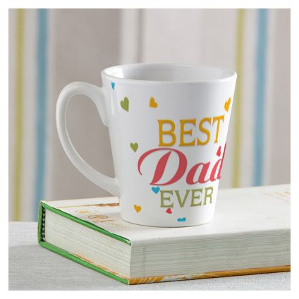 Best Dad ever white Mug