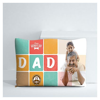 Happy Father's day personalized cushion