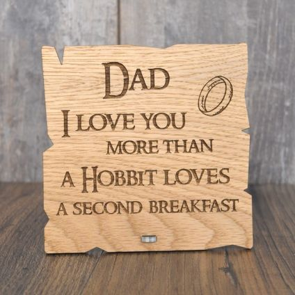 Love you Daddy wooden Plaque