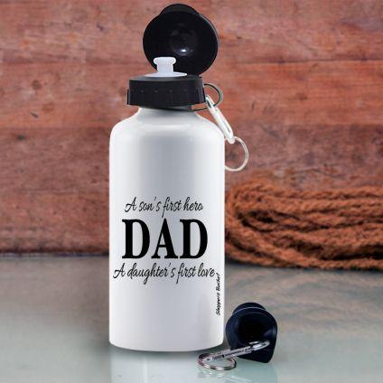 White Sipper 600 ml Water Bottle