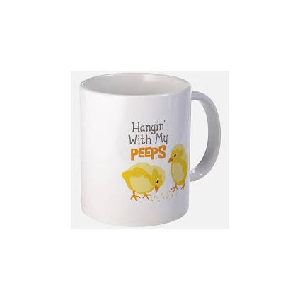 you are my peeps mug