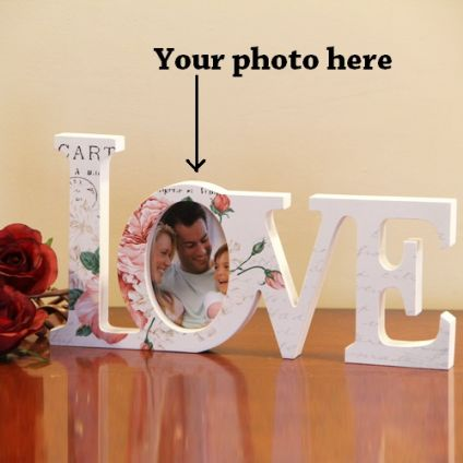 Personalized Love photo frame