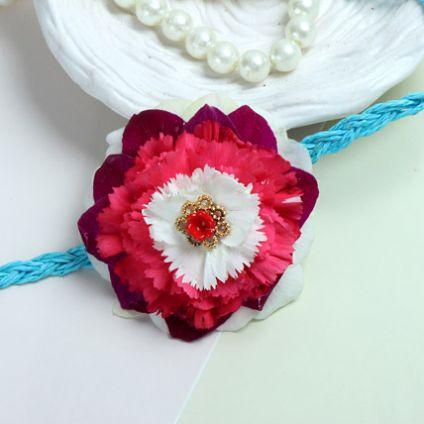 Fresh Flower Glaze Rakhi