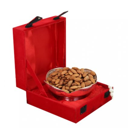 Jali Bowl Almonds