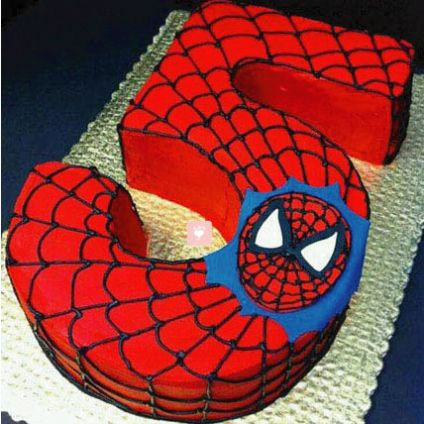 3 Kg Spiderman Birthday Cake