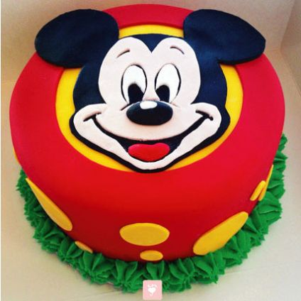 Fabulous Mickey Mouse Cake