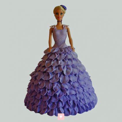 Dazzling Barbie Cake