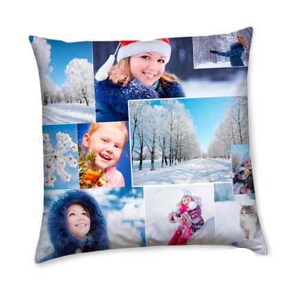 personalized new year cushion