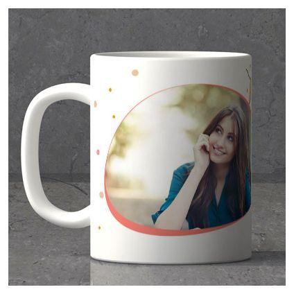 Festoons Personalized New Year Mug