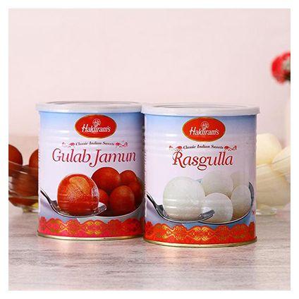 Yummy Rasgulla and Gulab Jamun Pack