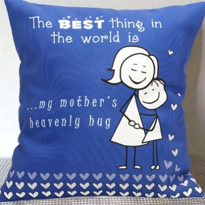 My Moms Hug cushion