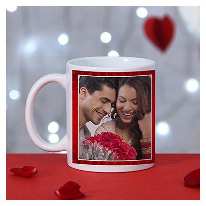 Romantic personalize ceramic mug