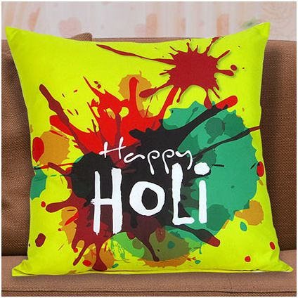 Holi Special Cushion