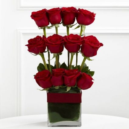 3 Layer Roses arrangements
