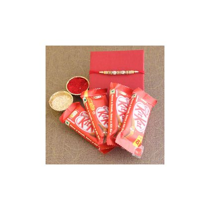Kitkat With Rakhi