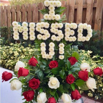 Personalized Floral Arrangement