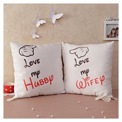 Valetine Couple Cushion