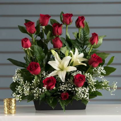 Love Valentine Flowers