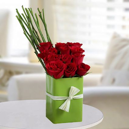 Sweet Roses Arrangement
