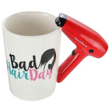 Hair Dryer Handle Mug