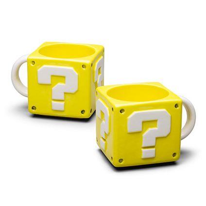 Couple Super Mario question Mug