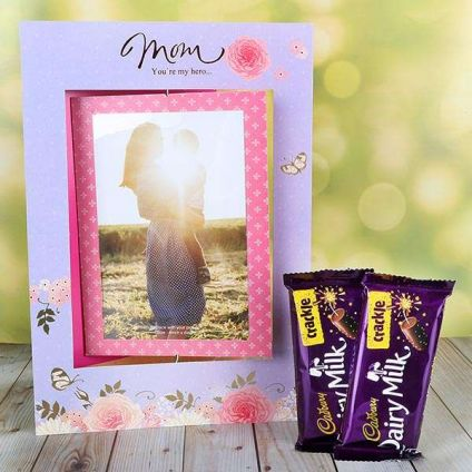 Chocolates And Card For Mom