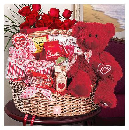 Valentines Day Special Gift Basket
