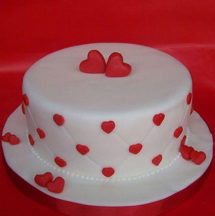 Round Shape Fondant Cake